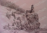 lighthouse-rock-cliff-structure-prints-wall-art-pencil-drawing-s009