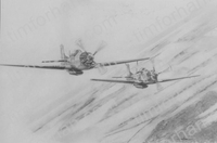 2-p51-aircraft-airplane-pencil-drawing-ac007