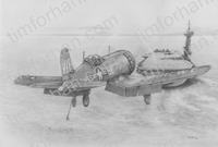 f4u-1d-carrier-landing-aircraft-airplane-pencil-drawing-ac013
