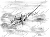 the-youngest-avenger-aircraft-airplane-pencil-drawing-ac015