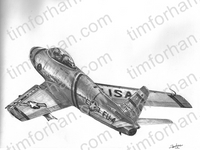 f86-climbing-rear-aircraft-airplane-pencil-drawing-ac019