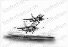 f16-cd-2-defenders-aircraft-airplane-pencil-drawing-ac022