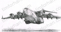 c-17-globemaster-aircraft-airplane-pencil-drawing-ac046