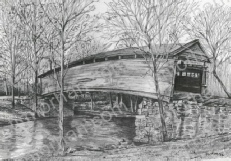 covered-bridge-bridges-pencil-drawing-b004