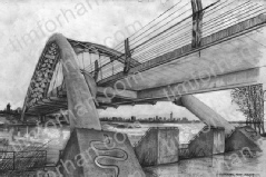 humber-bay-arch-canada-bridges-pencil-drawing-b005