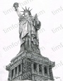 lady-liberty-the-statue-of-liberty-miscellaneous-prints-wall-art-pencil-drawing-m012