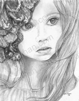 eyes-little-girl-miscellaneous-prints-wall-art-pencil-drawing-m015