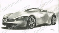bmw-gina-concept-car-transportation-prints-wall-art-pencil-drawing-t005