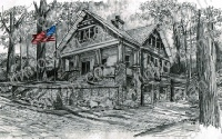 rock-wall-patriotic-house-us-flag-prints-wall-art-pencil-drawing-us002